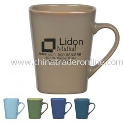 Ounce Square Mug with Reactive Glaze