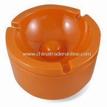 10 x 10 x 6cm Ashtray, Suitable for Outdoor Use, Available in Various Colors, Made of Melamine