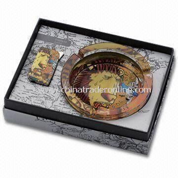 Ashtray, Made of Glass, Suitable for Gift, Round Shape