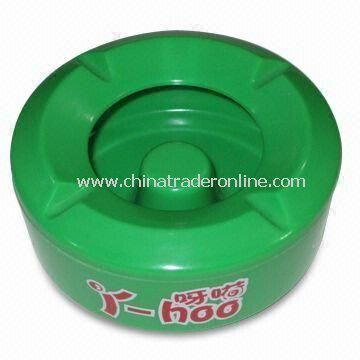 Ashtray, Made of Melamine Material, Different Colors are Available