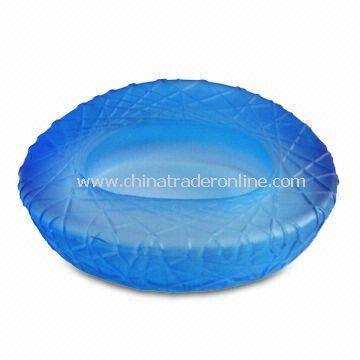 Chinese Niaochao Building Shaped Glass Ashtray with 45mm Height