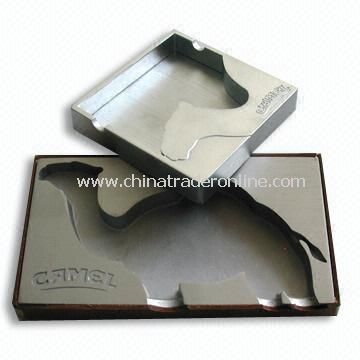 Die-cast Camel Ashtray, Made of Aluminum and Zinc Alloy
