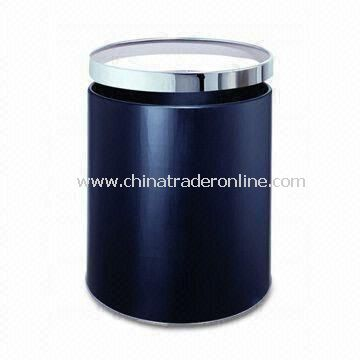 Ground Ash Barrel, Made of 304/202 Stainless Steel, Available in Black Color from China
