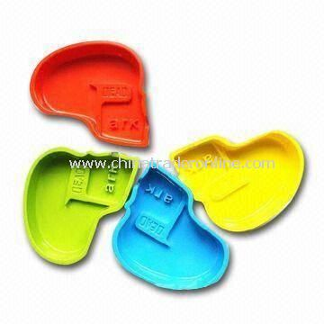 Melamine Ashtray, Customized Logo Printing, Different Colors/Shapes are Available