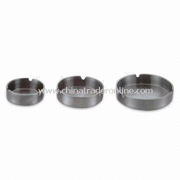 Stainless Steel Ashtrays