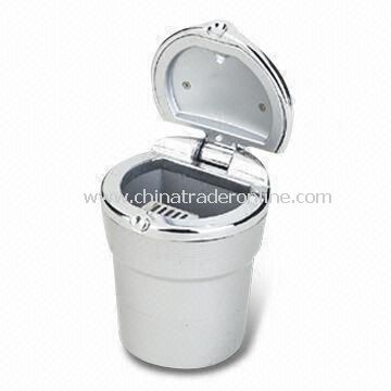 Stylish Ashtray, Made of Zinc Alloy, Measures 75 x 75 x 94mm, OEM Orders are Welcome