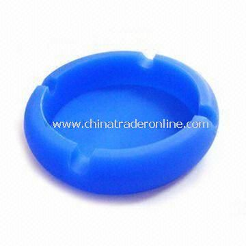100% Silicone Ashtray, Ideal for Promotional, Advertisement, and Marketing Purposes