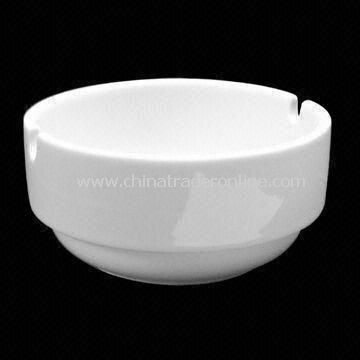 9.5cm Round Stacking Ashtray, Made of Porcelain