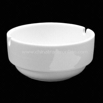 9.5cm Round Stacking Ashtray, Made of Porcelain