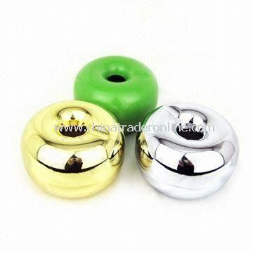 Apple-shaped Metal Ashtray, Various Colors are Available