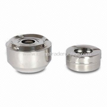 Ashtray, Made of Good-quality 201 Stainless Steel Material