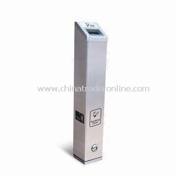 Ashtray Bin with 3.0mm Aluminum Body, Popular Design, Excellent Services