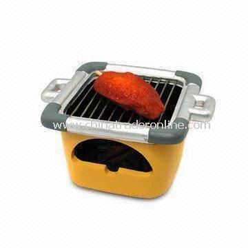 BBQ Ashtray, Made of Polyester, Measuring 13 x 10.5 x 8.4cm