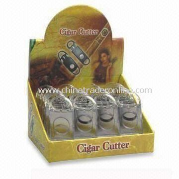 Cigar Cutter, Measures 90 x 38mm, Made of Plastic Material
