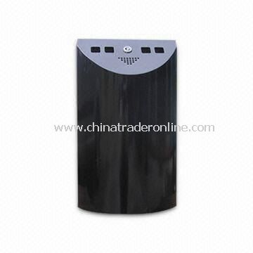 Cigarette Bin, Measures 220 x 85 x 380mm, with Galvanized Iron and Powder Coating