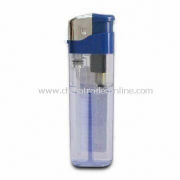 Cigarette Lighter, Customized Designs and Colors are Welcome, Made of Plastic