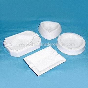 Fine Porcelain Ashtray Available in Four Different Shapes