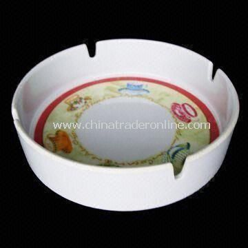 Melamine Ashtray, Measuring 13.5 x 4cm, Easy to Clean, Available in Various Colors