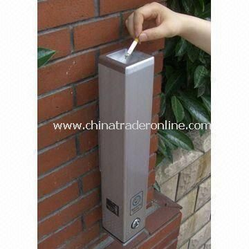 Outdoor Ashtray for Japan, Europe and America Markets, Available in Size of Ø8.0 x 48cm