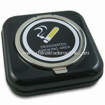 Pocket Ashtray, Nice Sealing Performance, Make Butts Extinguish Quickly from China