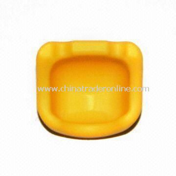 Silicone Ashtray, Customized Designs or Logos are Welcome
