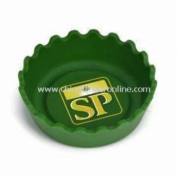 Silicone Ashtray, Different Colors and Shapes are Available