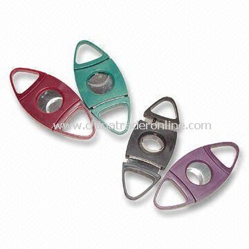 Slide-Cutting Cigar Cutter, Classic and Great as Promotional Gift