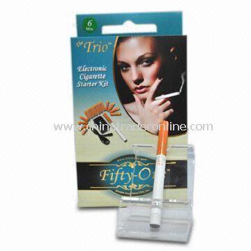 E-cigarette, Looks Like a Cigarette, but No Tar, No Flame, and No Carbon Monoxide