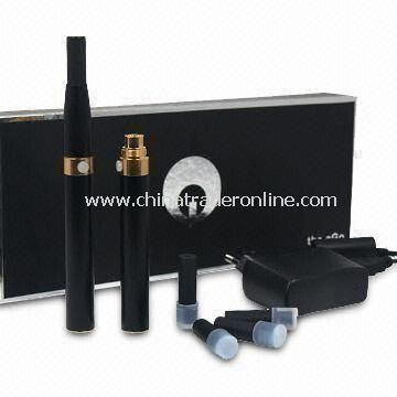 E-Cigarette with Atomizer Lifespan of 200,000 Times and Standard Automatic Battery Around 700 Puffs