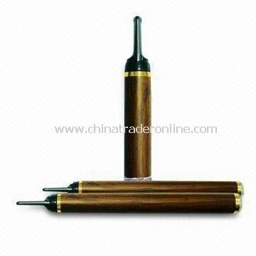 E-cigarette with Red LED Indicator Lamp and More than 300 Times Battery Lifespan from China