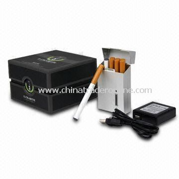 E-cigarette Set, Nicotine Content of Each Cartridge Equals to 8 to 10pcs Traditional Cigarette