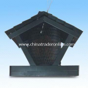 Bird Feeder, Made of Iron Material, with Baked Varnish Surface Treatment