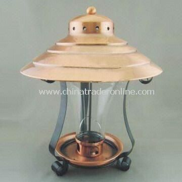 Bird Feeder, Made of Red Bronze with Baking Varnish Surface Treatment