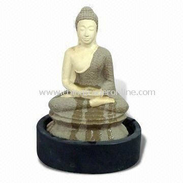 Ceramic Buddha, Fountain, Tabletop, Home Decoration, Garden Ornaments From  China