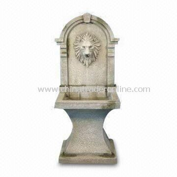 Close Designed Light and Durable Garden Fountain, Made of Fiberglass, with 46-inch Height