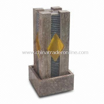 Desktop Fountain, Made of Fiberglass, Available in Various Colors and Designs from China