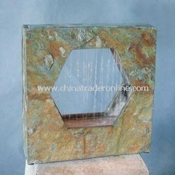 Desktop Fountain with Stone, Available in Different Designs, Sized 16-inch