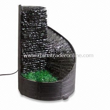 Desktop Fountain with Stone, Available in Different Designs and Styles