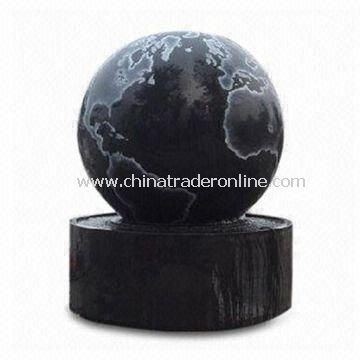 Fountain with Polished Surface Finish, Various Designs are Accepted, Suitable for Outdoor Decoration from China