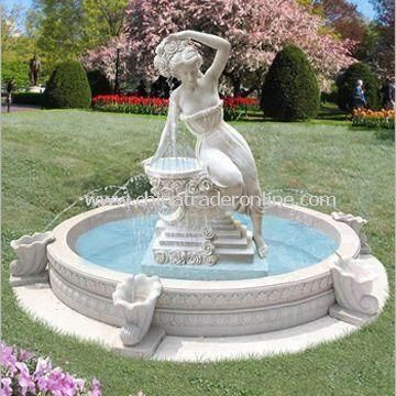wholesale Garden Fountain Suitable for Outdoor Made of