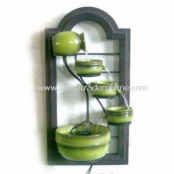 wall fountain with 5 bowls and 20inch height available in