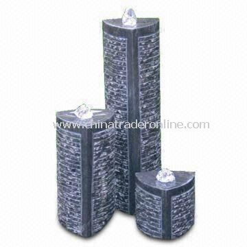 Outdoor Fountain set, Made of Granite, Ideal for Gardens, Available in Different Designs