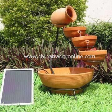 Solar Cascading Pump Kit Powered by Solar Energy