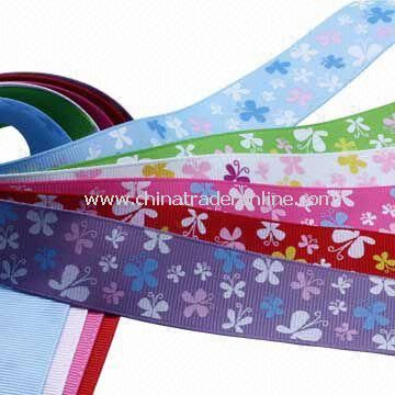 Spring Ribbon for Decoration, Made of 100% Polyester Yarn