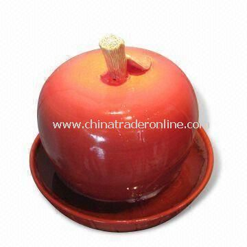 Tabletop Fountain, Available in Apple Shape, Measures 28 x 28 x 30cm