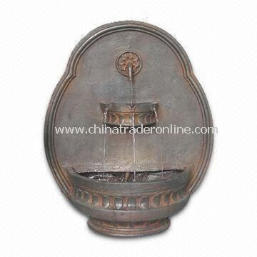 Wall Fountain, Made of Fiberglass Material with 21 Inches Height from China