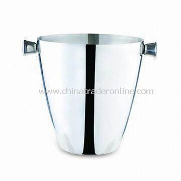 3,000mL Ice Bucket, Made of Stainless Steel