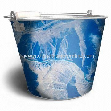 Beer Ice Bucket, Different Sizes and Printing Patterns are Available from China