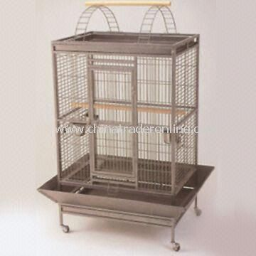 Bird Cage, Made of Wire