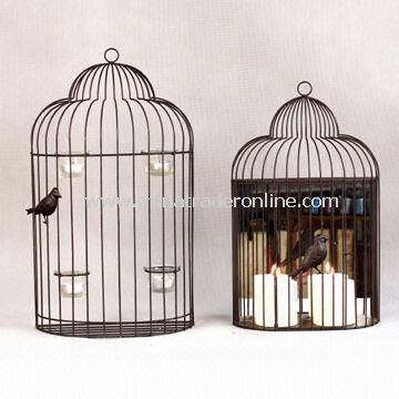 Bird Cages with Powder Coated, Available in Various Sizes